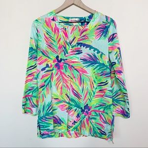 Lilly Pulitzer Amelia Island Tunic In Island Time